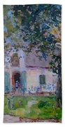 Jonkerhshuis At Groot Constantia Beach Towel
