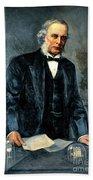 Joseph Lister, Surgeon And Inventor Beach Towel