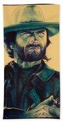 Josey Wales Outlaw. Smokin Gun Beach Towel
