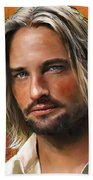 Josh Holloway Beach Towel