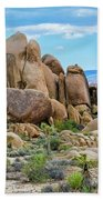 Joshua Tree Boulders Beach Towel