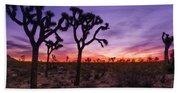 Joshua Tree Pastel Colors Beach Towel