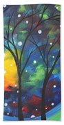 Joy By Madart Beach Towel