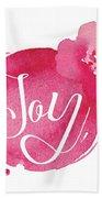 Joy Beach Towel
