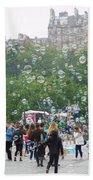 Joy Of Bubbles Beach Towel