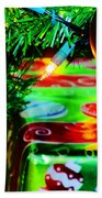 Joy Of Christmas 1 Beach Towel