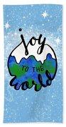 Joy To The World Beach Towel