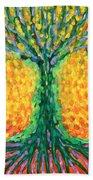 Joyful Tree Beach Towel