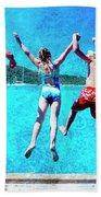 Jump In Beach Towel