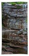 June Morning At Awosting Falls Beach Sheet