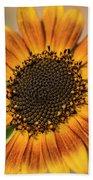 June Sunflowers #2 Beach Towel