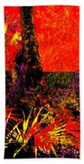 Jungle At The Corner Of Concha And Laconia Beach Towel by Eikoni Images