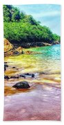 Jungle Beach Beach Towel
