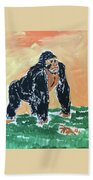 Jungle Beast Beach Towel