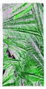 Jungle Flora Beach Towel