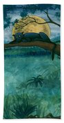 Jungle Panther Beach Towel