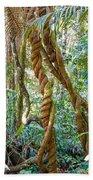 Jungle Vines Beach Towel