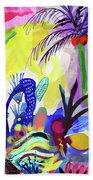 Jungle Vision Beach Sheet