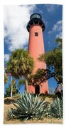Jupiter Lighthouse II Beach Towel