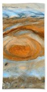 Jupiterian Storm Of The Century Beach Towel