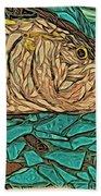 Just A Fish Beach Towel