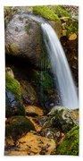 Just A Very Small Waterfall II Beach Towel