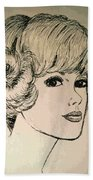 Just Another Pretty Face Beach Towel