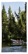 Just Around The River Bend Beach Towel