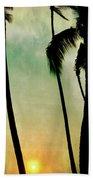 Just Before Sunset Beach Towel