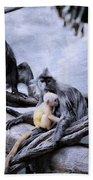 Just Monkeying Around Beach Towel
