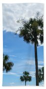 Just Palm Trees Beach Towel