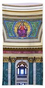 Justice Mural - Capitol - Madison - Wisconsin Beach Towel