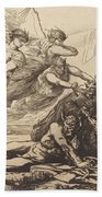 Justice, Vengeance, And Truth Beach Towel