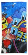 Kachina Knights Beach Towel