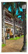 Kailua Village - Kona Hawaii Beach Towel