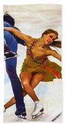 Kaitlyn Weaver And Andrew Poje Beach Towel