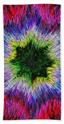 Kaleidomicro Beach Towel