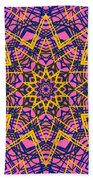 Kaleidoscope 1004 Beach Towel