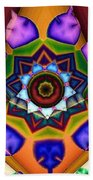 Kaleidoscope 120 Beach Towel