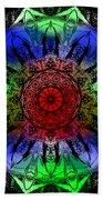 Kaleidoscope Beach Towel by Deleas Kilgore
