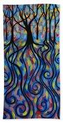 Kaleidoscope Forest Beach Sheet