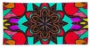 Kaleidoscope Of Color Beach Towel