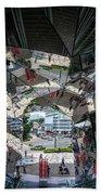 Kaleidoscopic Tokyo Beach Towel