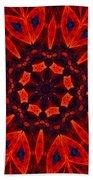 Kalidescope Abstract 031211 Beach Towel