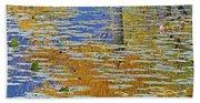 Kaloya Pond Autumn Beach Towel