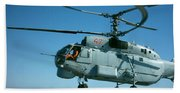 Kamov Ka-27 Beach Towel