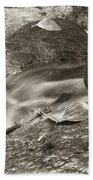 Kanaka Creek Bw Beach Towel