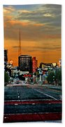 Kansas City Evening Beach Towel
