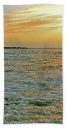 Kaohikaipu Island Sunrise  658 Beach Towel