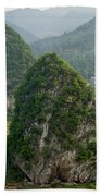 Karst Landscape, Guangxi China Beach Towel